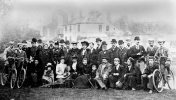 Club outing 1900