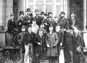 Club outing 1891