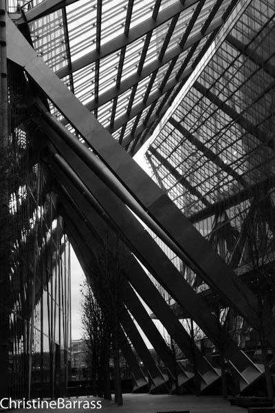 Angled. Liverpool Street Christine Barrass