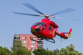 Emergency Landing Den Heffernon