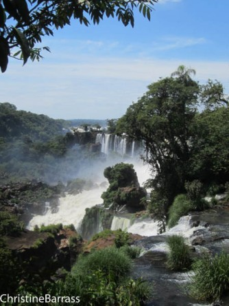 Into the Devils mouth-Iguacu Christine Barrass