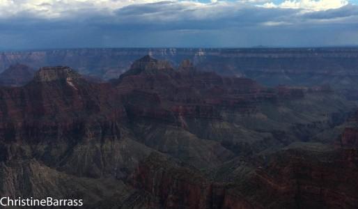 North rim Grand Canyon Christine Barrass