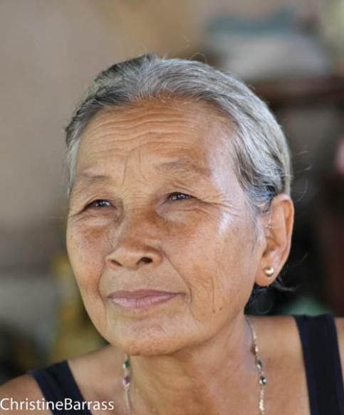 Portrait from Cambodia Christine Barrass