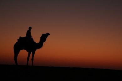 Thar Desert Sunrise Christine Barrass