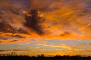 Kent Sunset by Den Heffernon