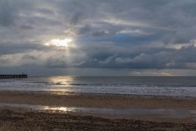 Walberswick Sunrise by Den Heffernon