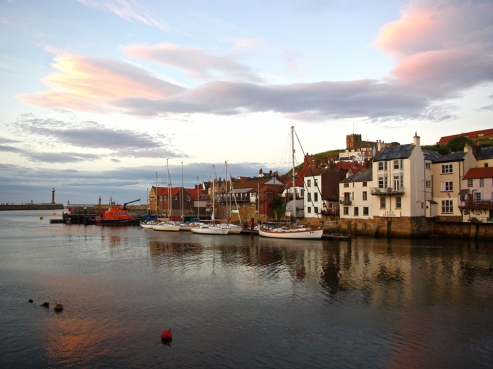 Whitby Eventide by Stephen Gates ARPS