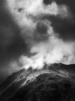 Moody Mountain Light by John McCarthy LRPS