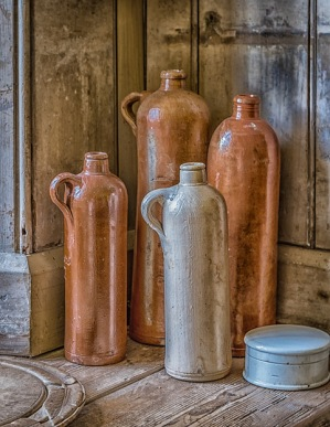 Old Bottles by Susan Grimes