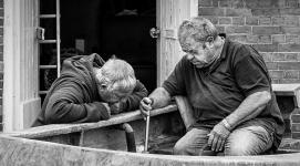 Boat Repairs by Robert Williams