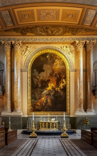 Chapel - Old Royal Naval College Greenwich by Jeff Royce