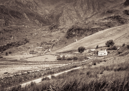 Farmhouse, Snowdonia by John McCarthy LRPS