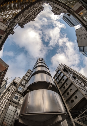 The Lloyd's Building by Robert Williams