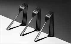 Forks and Shadows by Jim Berkshire