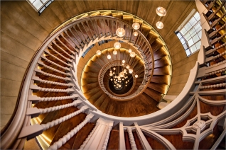 Spiral Stairs by Robert Williams