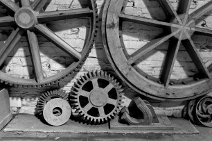 Wheels and Cogs by Stephen Gates ARPS