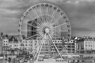 Brighton Wheel by Susan Grimes