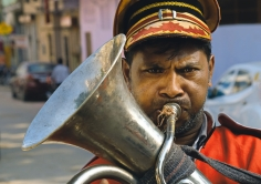 Tuba Player by Dave Harris LRPS