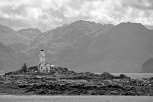 The Lighthouse, Isleornsay, Skye by Stephen Gates ARPS
