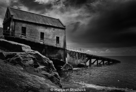 Old Lifeboat Station by Margaret Stredwick