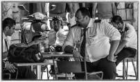 Tea break by Victor Pace