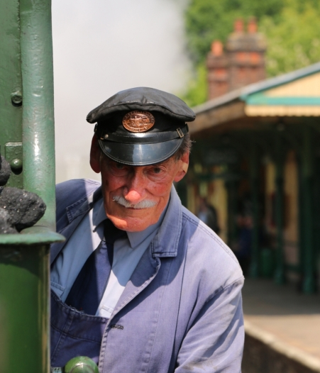 The Train Driver by Margaret Stredwick