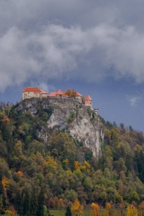 Bled Castle, Slovenia by John McCarthy LRPS
