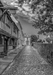 Cobbled Street, Rye by Susan Grimes