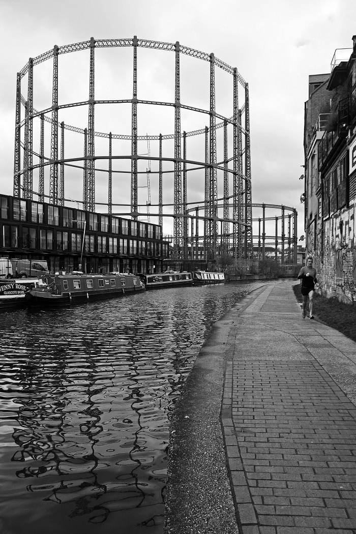 Regent's Canal at Bethnal Green by Stephen Gates ARPS