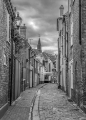Cobbled Street by Susan Grimes