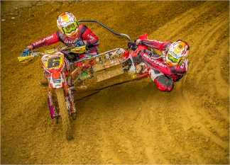 Motocross and Sidecar by Jim Berkshire