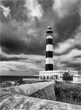 Storm Over Oap d'Artrutx by Jim Berkshire