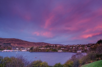 Portree in Pink by John McCarthy LRPS