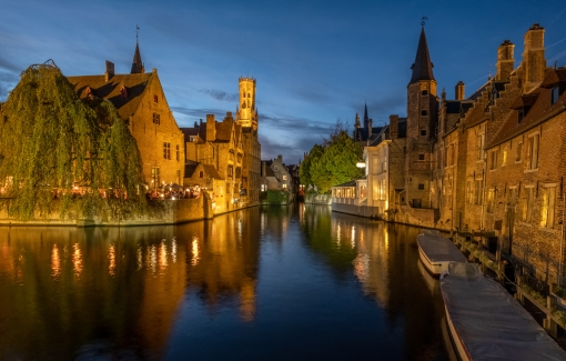 Brugge by Night by Susan Grimes
