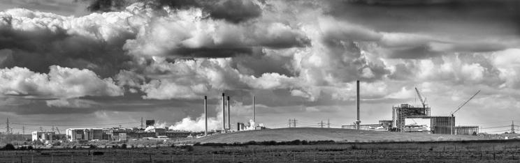 Industrial Skyscape by Jeff Royce