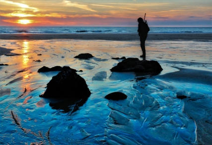 Beach Explorer by Margaret Stredwick
