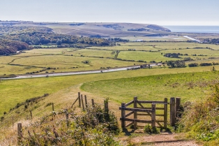 Cuckmere Valley by Den Heffernon