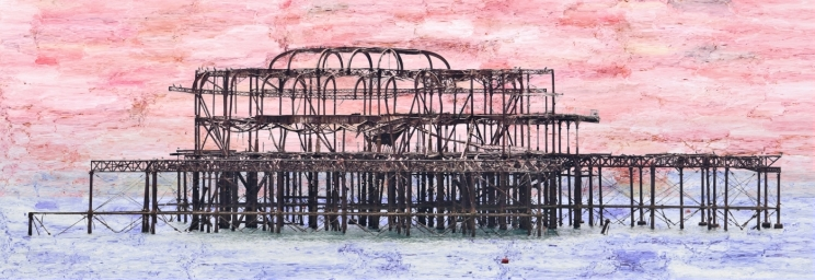 The Old Pier by Margaret Stredwick