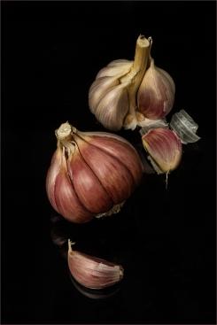 Garlic Cloves by Jim Berkshire