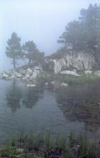 Misty Lake by Stephen Gates ARPS