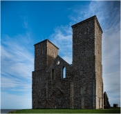Reculver Towers by Jeff Royce