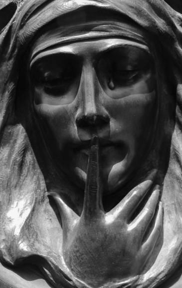 A single tear by Christine Barrass