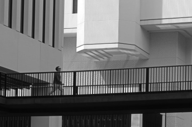 Barbican walkway by Stephen Gates ARPS