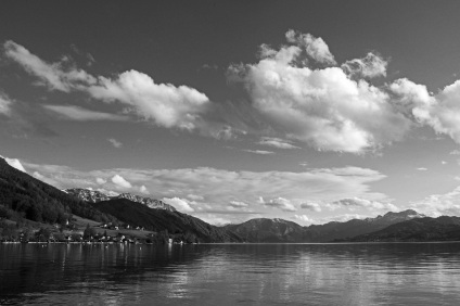 Lake Attersee by Stephen Gates ARPS