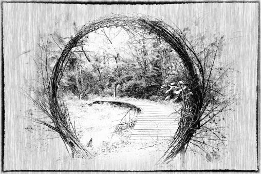 Woodland Portal by Margaret Stredwick