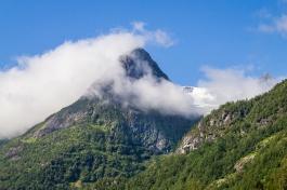 Misty Mountain Top by Den Heffernon