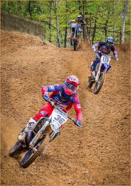 Motocross Racers by Jim Berkshire
