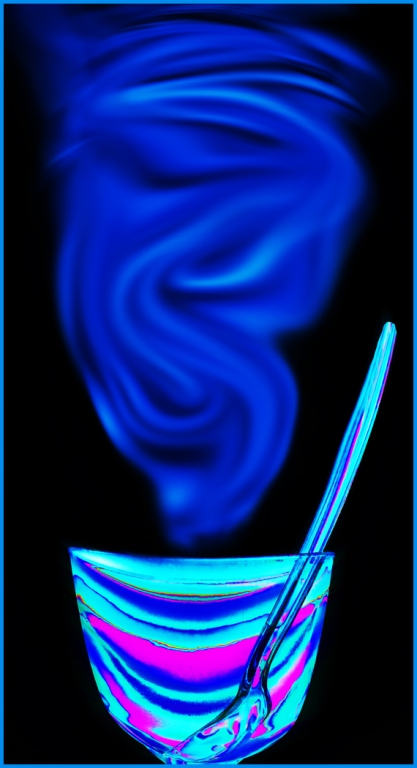 Steaming Bowl by Margaret Stredwick