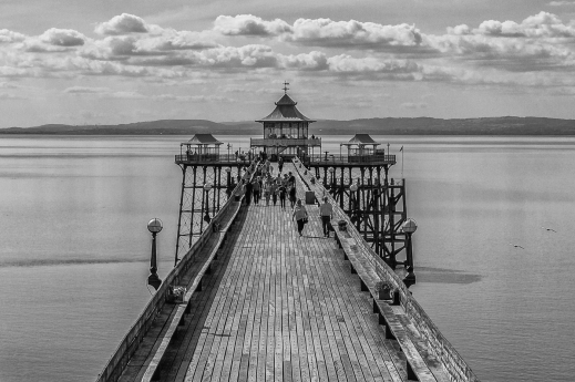 A Walk on the Pier by Den Heffernon