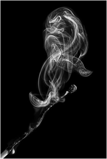Burnt Match by Jim Berkshire